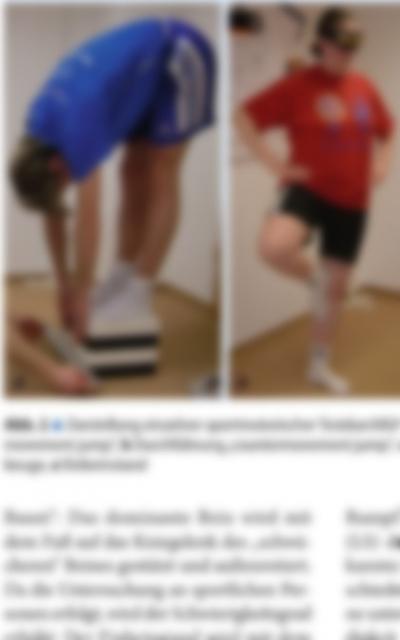 Auswirkungen von Veränderungen der Unterkieferlage auf die Bewegungsqualität in sportmotorischne Tests