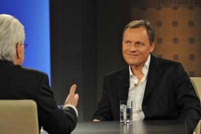 Dr. Tschackert bei Frank Elstner´s Talkshow